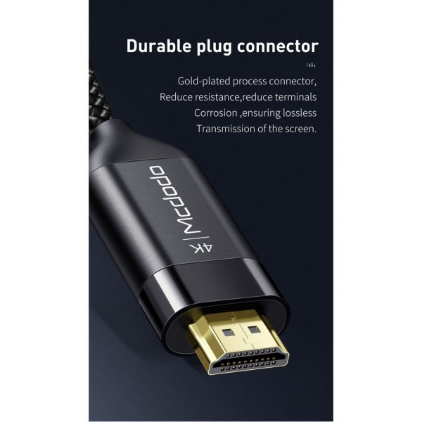 MCDODO HDMI Connection Cable CA-7180 Black