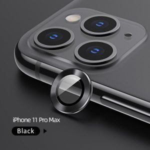 Usams Camera Lens Glass Iphone 11 Pro Max Black