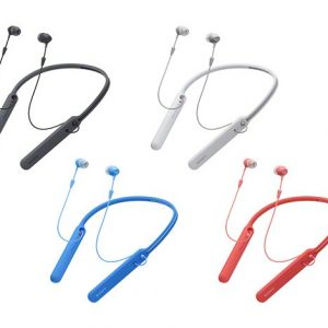 Sony Earphone Bluetooth Wi-C400 Red