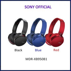 Sony Headphone Mdr-Xb950 B1 Red