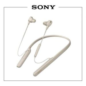 Sony Earphone Bluetooth Wi 1000 Gold
