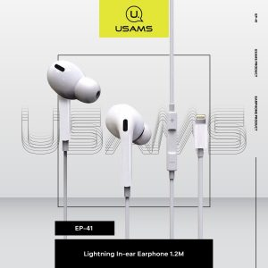 Usams In-Ear Earphone Iph US-SJ453