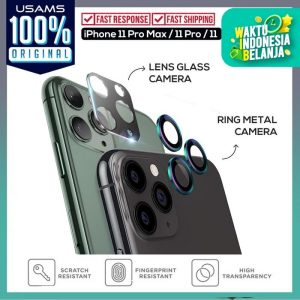 Usams Camera Lens Glass Iphone 11 White