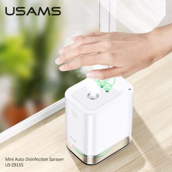 Usams Mini Auto Disinfection Sprayer US-ZB155 Blk