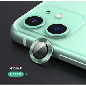 Usams Camera Lens Glass Iphone 11 Green